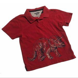 🧚♀4/$25 OSHKOSH Boys Sz 3T Polo Shirt